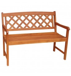 BE-53923 2-Seater Lattice Back Bench
