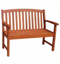 BE-53937 2-Seater Bench | Oil Dipped