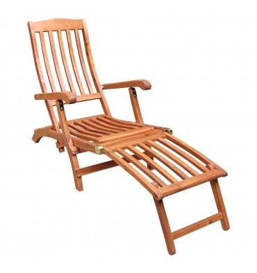 C-53912 Steamer Lounge Chair | Oil Dipped