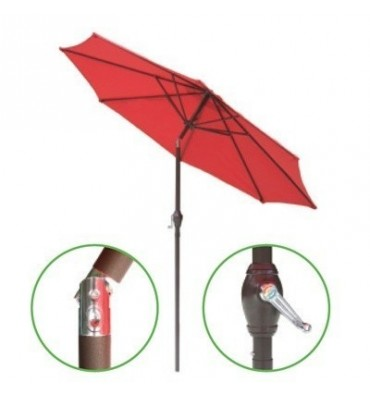 9' Round Umbrella With Tilt