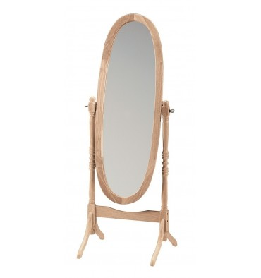 46709 Oval Cheval Mirror