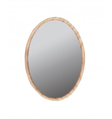 DISCONTINUED MI-328 Oval Hanging Mirror