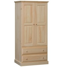 [34 Inch] Franklin Wardrobe with Drawer