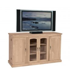 [62 Inch] TV Console with Swing Out Doors