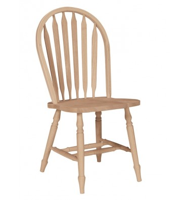 Arrowback Windsor Side Chair with Turned Leg  sc 1 st  Wood You Furniture & Arrowback Windsor Side Chair with Turned Leg - Wood You Furniture ...