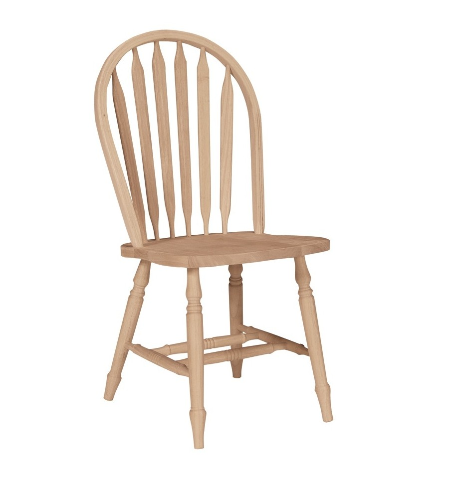 Gentil Arrowback Windsor Side Chair With Turned Leg ?