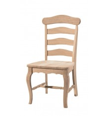 Country French Ladderback Side Chairs
