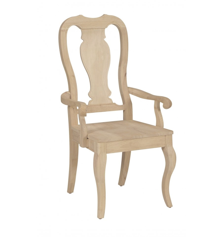 Queen Anne Chairs Wood You Furniture Jacksonville Fl