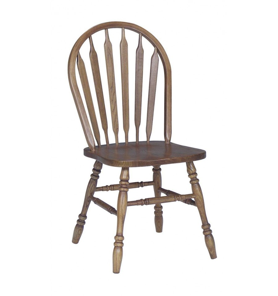 Oak Windsor Side Chair Wood You Furniture Jacksonville Fl