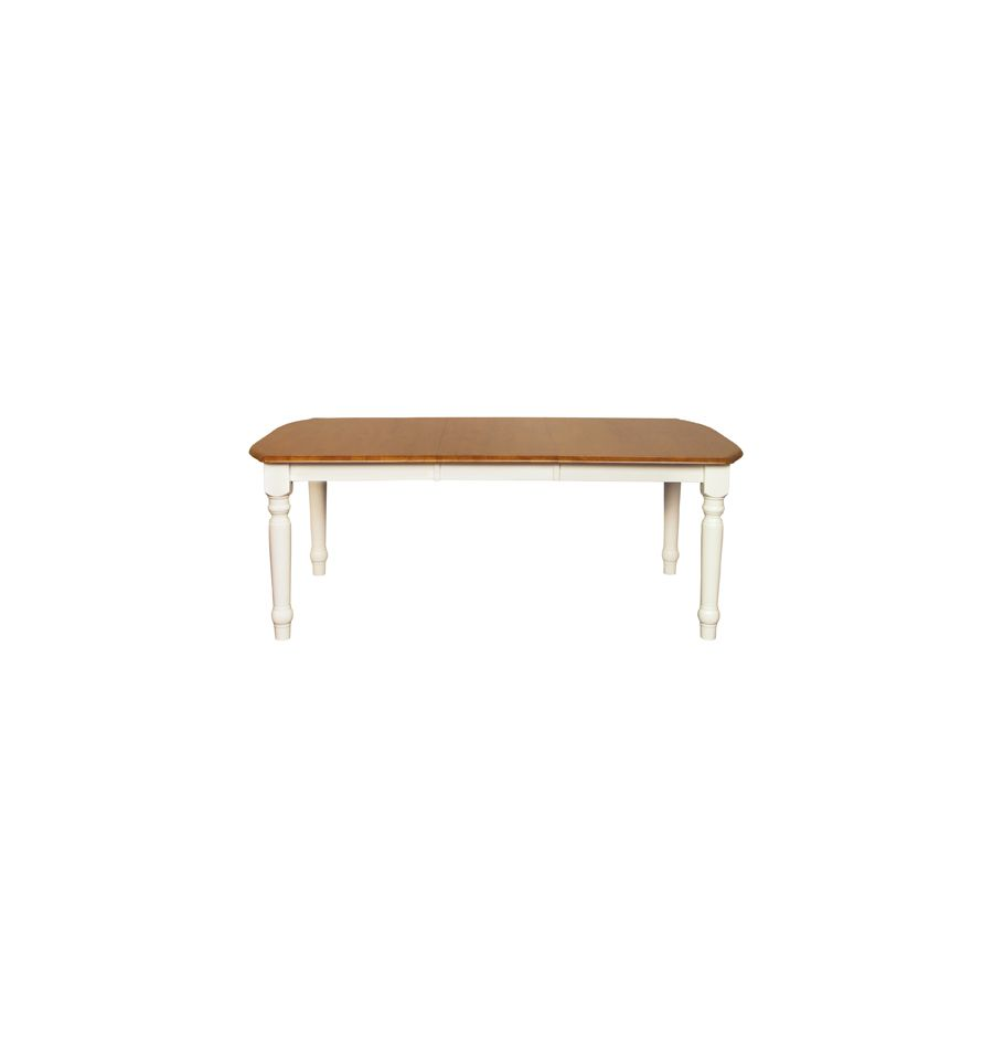 [78 Inch] Farmhouse Extension Dining Tables Wood You Furniture
