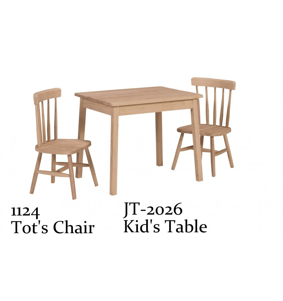 Kid 39 S Tot Chair Wood You Furniture Jacksonville Fl