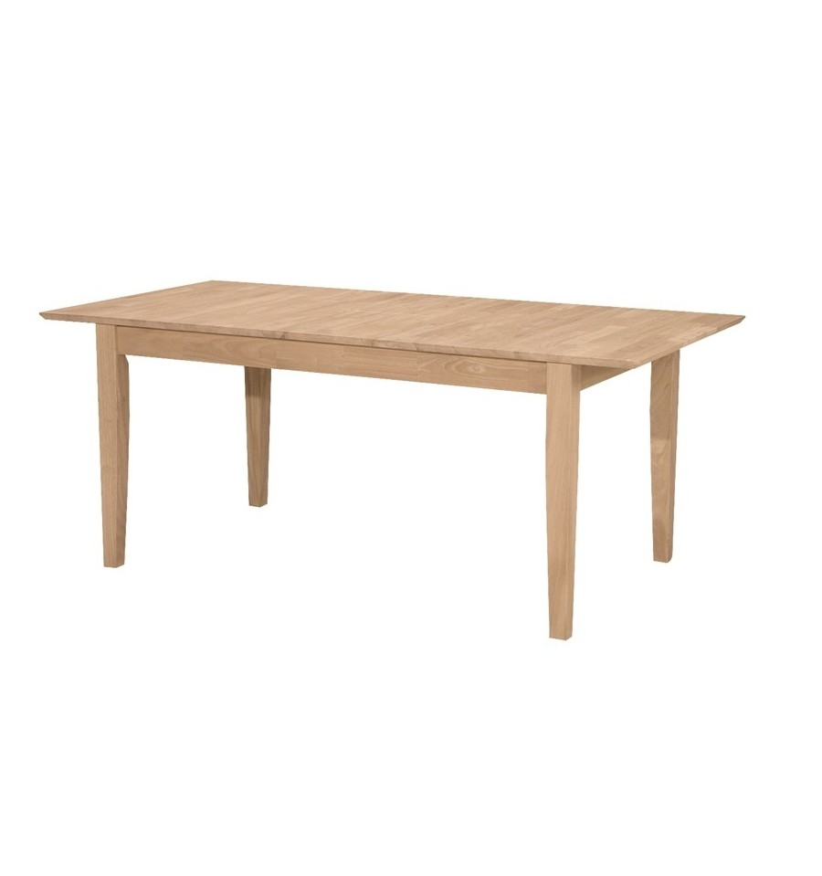 72 Inch Shaker Butterfly Dining Tables Wood You Furniture