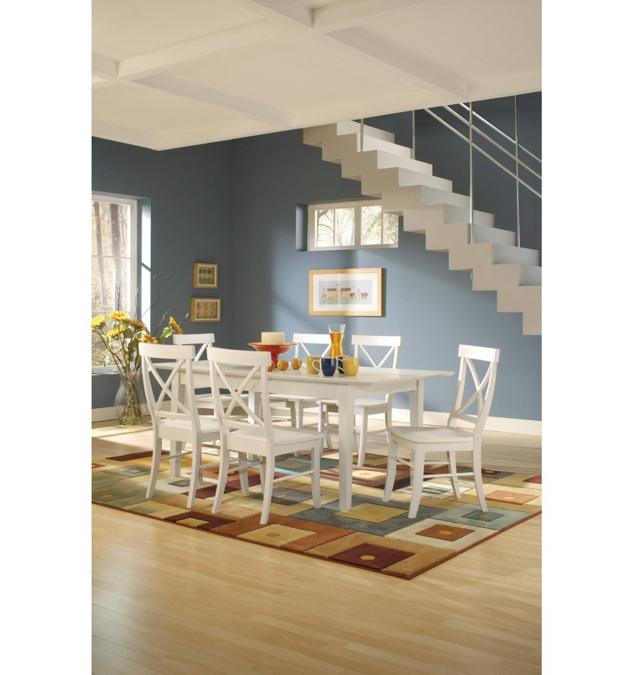 72 Inch Shaker Erfly Dining Tables