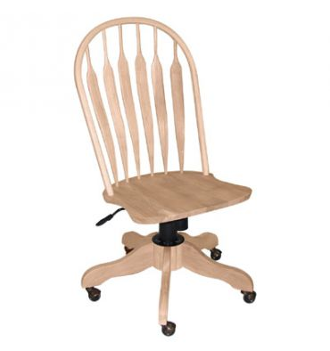 1206 Deluxe Steambent Windsor Desk Chairs