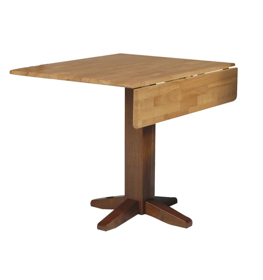 36 Inch Square Dropleaf Dining Table Wood You