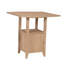 [38 Inch] Dropleaf Bistro Gathering Table