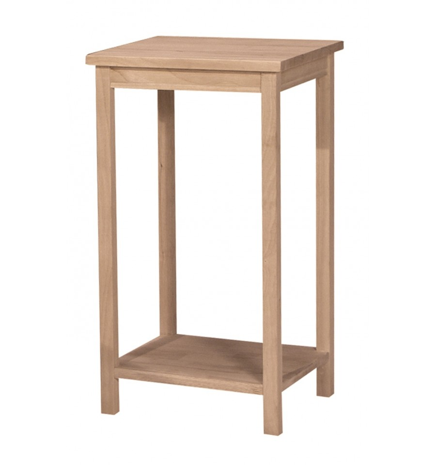 14 Inch Portman Tall Accent Table Wood You Furniture