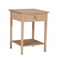 [21 Inch] Hampton Bedside Table