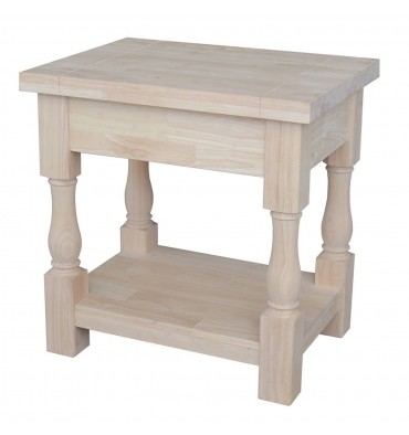 24 Inch Tuscan End Table