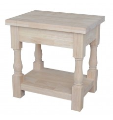 [24 Inch] Tuscan End Table