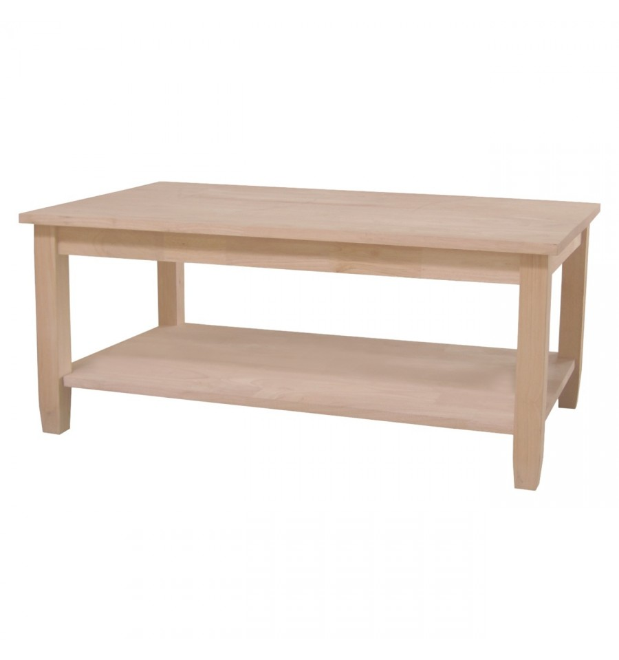 38 Inch Solano Coffee Table Wood You Furniture