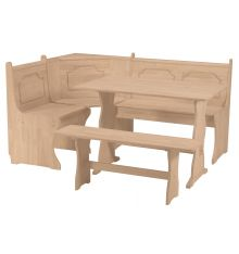 [67 Inch] Breakfast Corner Nook Set