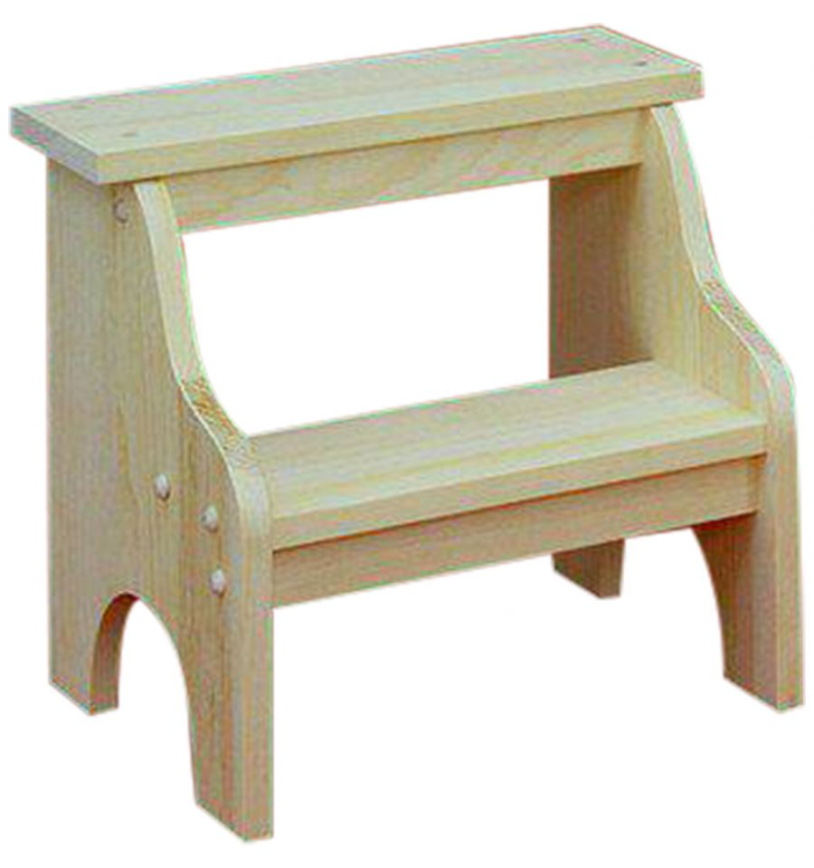 15 Inch Step Stool Wood You Furniture Jacksonville Fl