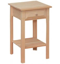 [15 Inch] White Horse Side Table