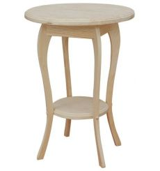 [19 Inch] Queen Anne Round Table