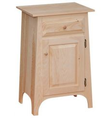 [21 Inch] Slant Hall Cabinet - Drawer