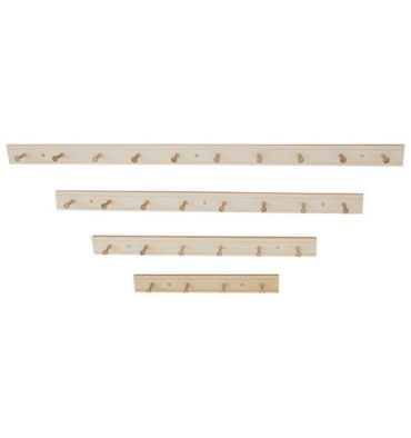 [24-60 Inch] Wall Coat Racks | Peg