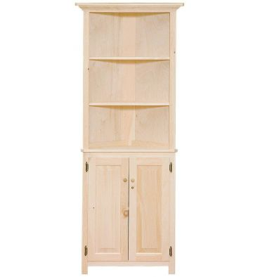 26 Inch Corner Hutch Doors Wood You Furniture Jacksonville Fl