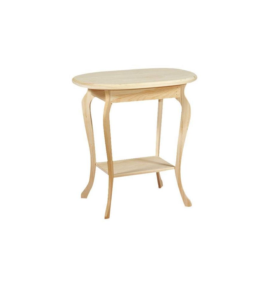 [26 Inch] Queen Anne Oval Table ?