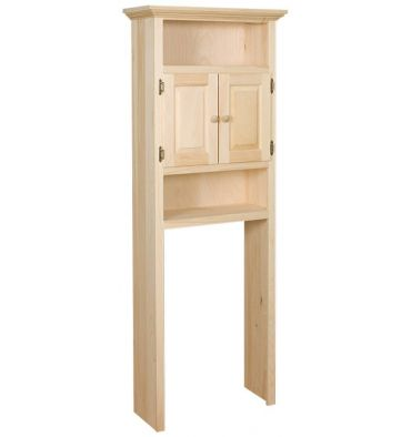 27 Inch Etagere Over The Toilet Cabinet