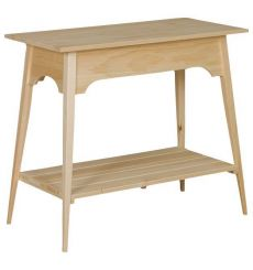 [35 Inch] Shaker Slat Table