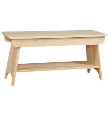 [36 Inch] Bench with Shelf