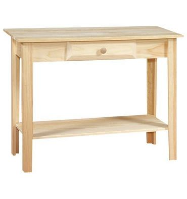 [36 Inch] White Horse Sofa Table