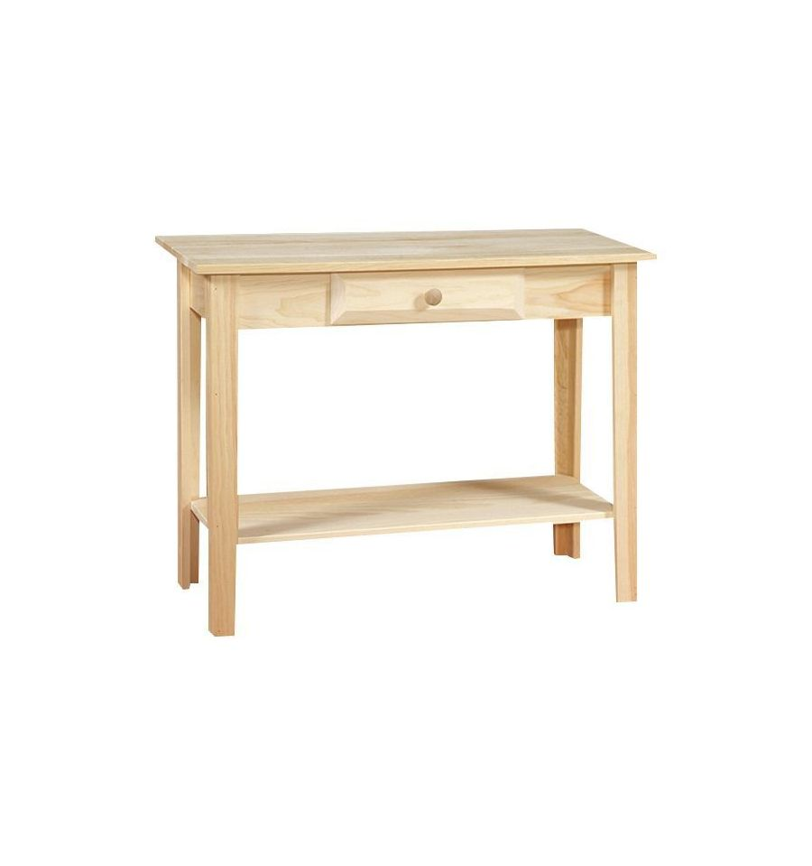 36 inch white horse sofa table wood you furniture for Coffee tables 36 wide