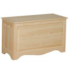 [39 Inch] Raised Panel Blanket Box