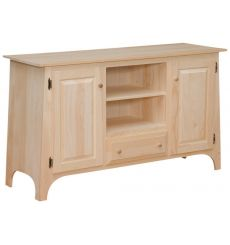 [48 Inch] Slant TV Console - Drawer