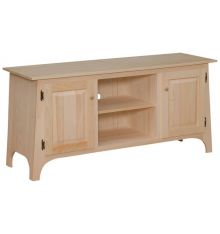 [55 Inch] Slant TV Console - Drawer