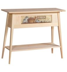 [35 Inch] Shaker Hall Table - Print