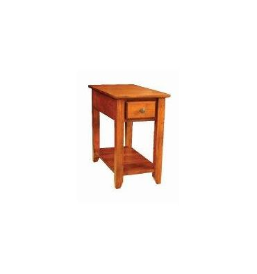 [14 Inch] Alder Shaker Chairside Table
