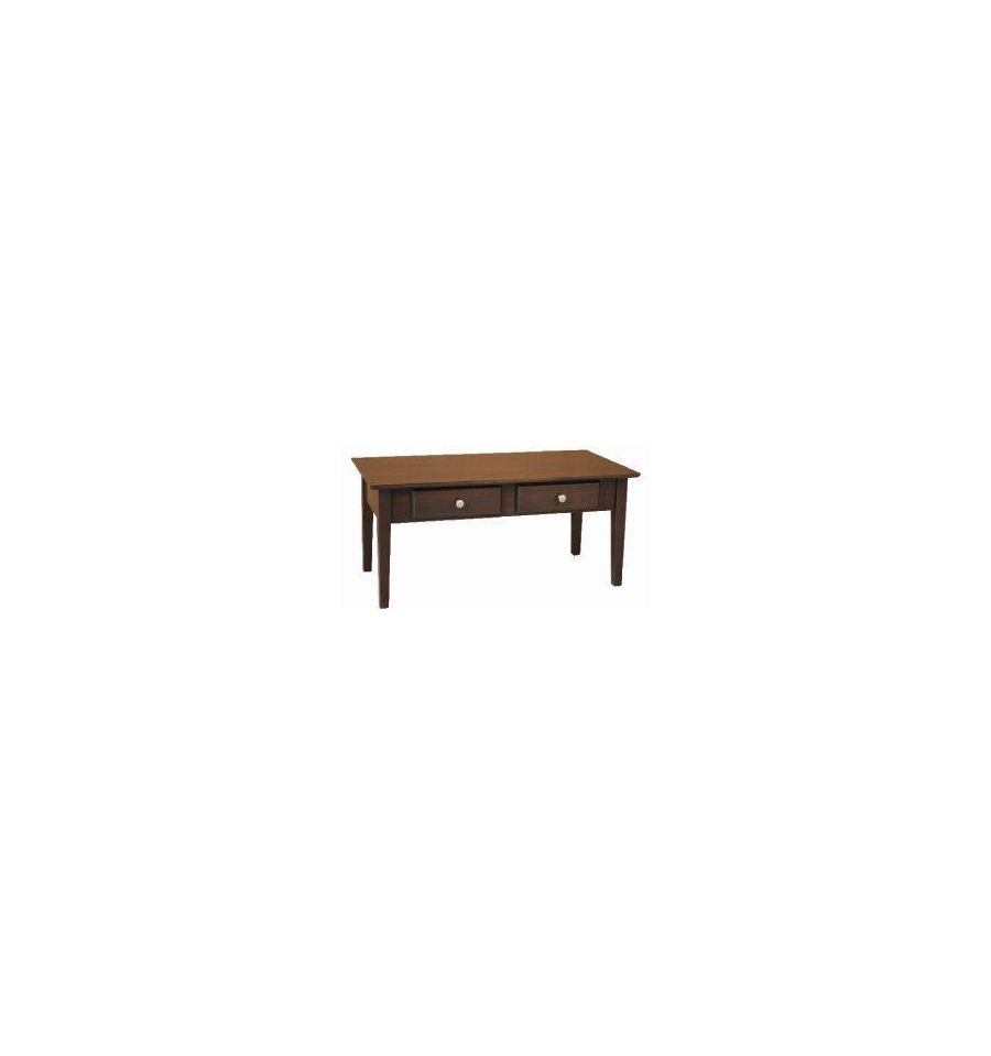 40 inch alder shaker coffee table wood you furniture 40 inch alder shaker coffee table geotapseo Images