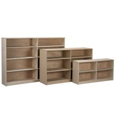 AWB Nola Bookcases with Center Divider