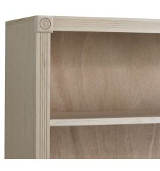 Federal Bookcases: Wood and Glass Doors | AWB-BK3