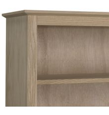 Shaker Bookcases: Wood and Glass Doors | AWB-BK3