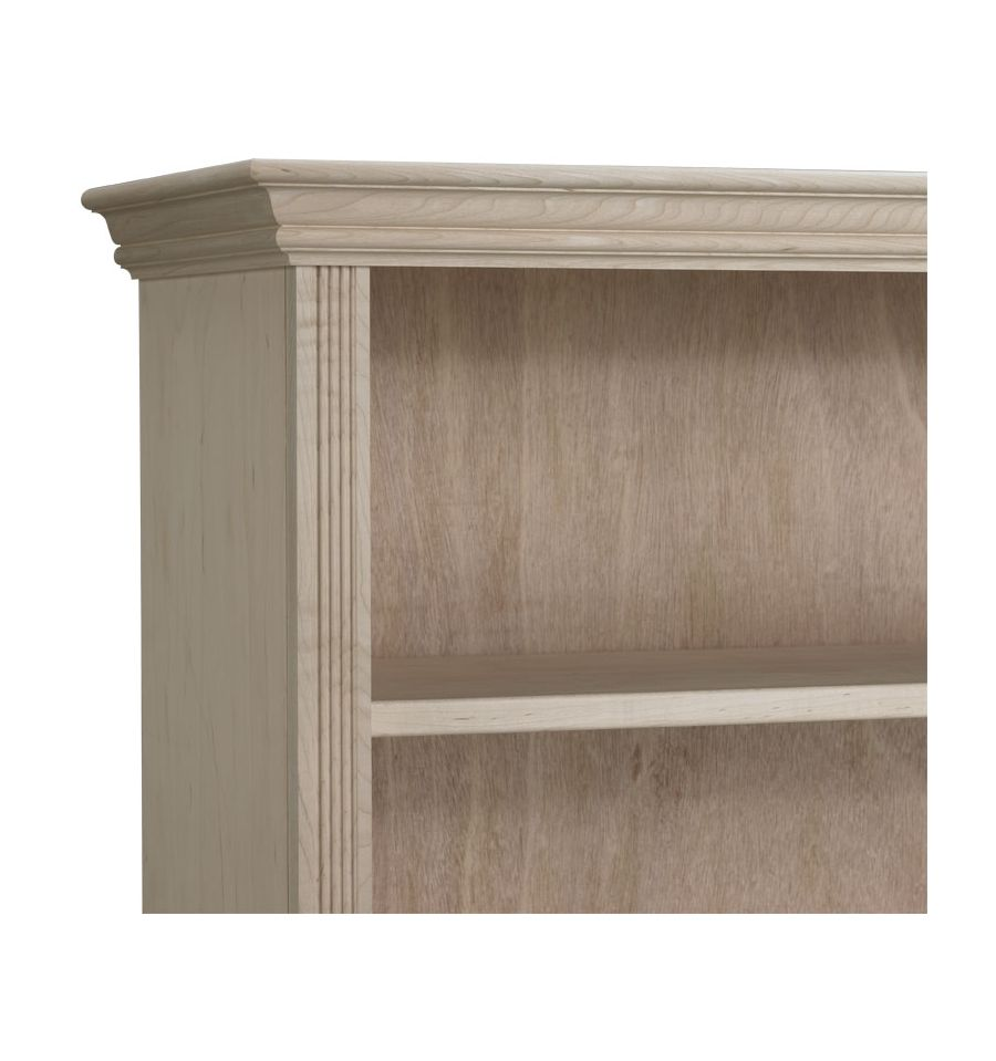 Federal Crown Bookcases Wood And Glass Doors Awb Bk3