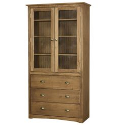 Regal Bookcases: Drawers and Doors | AWB-BK4