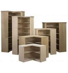 Federal Crown Corner Bookcases: Open | AWB-BK6